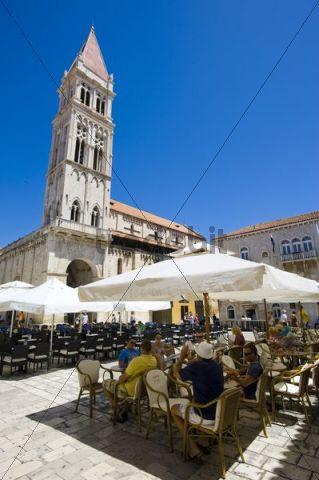 Lawrence cathedral, St. Lawrence, Trogir, Northern Dalmatia, Croatia, Europe