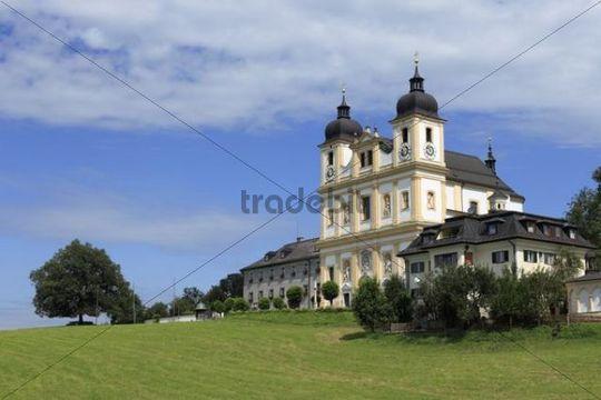 Pilgrimage church of Maria Plain, Bergheim bei Salzburg, Flachgau, Salzburgerland, Austria, Europe