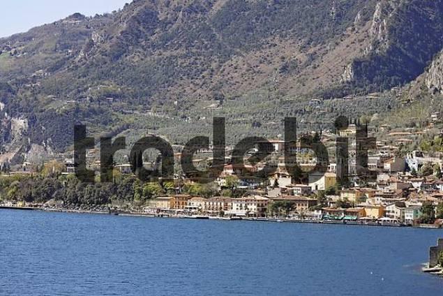 view of the village, Limone sul Garda, Lake Garda, Italy