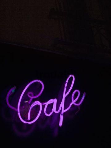cafe neon lettering paris france europe download. Black Bedroom Furniture Sets. Home Design Ideas