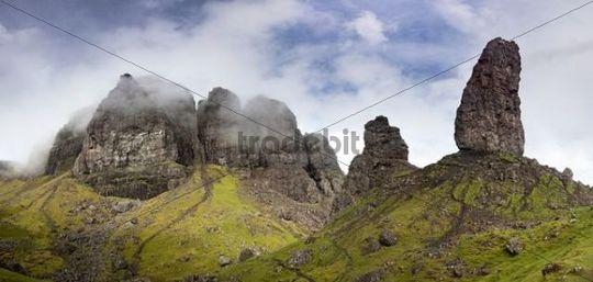 Old Man of Storr mountain, Isle of Skye, Scotland, UK, Europe