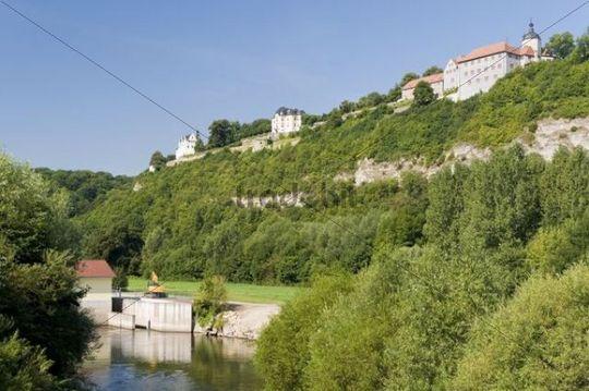 Dornburg Castles, Dornburg, Thuringia, Germany, Europe