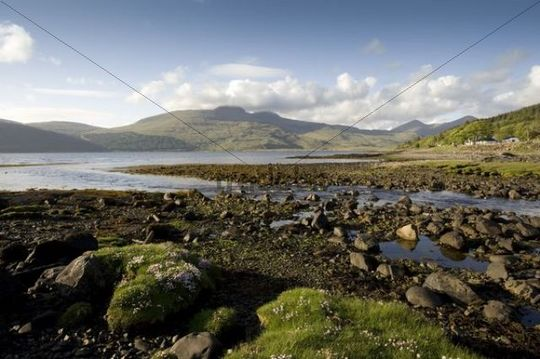Isle of Mull, Loch Scridain, Scotland, UK, Europe
