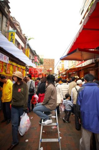 Market, spring festival, Taiwan, China, Asia