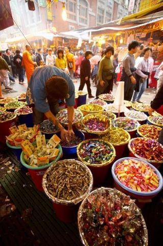 Market, spring festival, Taiwan, China, Asia