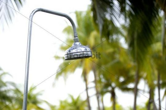 Shower, holiday resort, Singapore, Asia