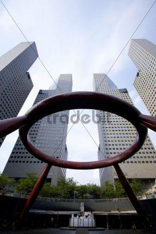 High-rise buildings, Singapore, Asia