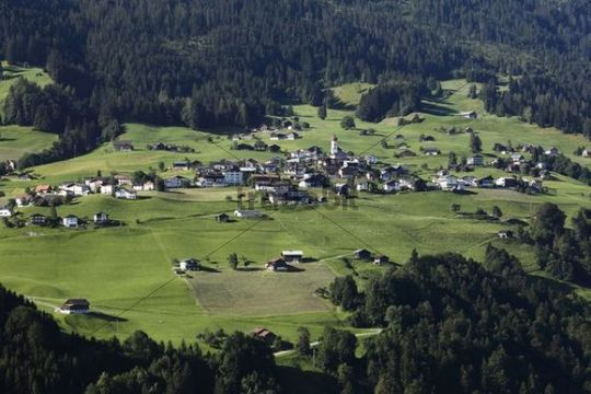 Raggal, Great Walser Valley, Vorarlberg, Austria, Europe