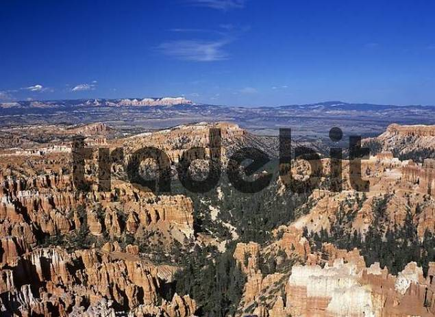 view from inspiration point, Bryce Canyon, Utah, USA