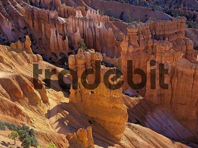 sunrise at Inspiration point , Bryce Canyon, Utah, USA