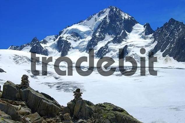 Aiguille du Chardonnet, Glacier du Tour, Alps Savoie, France