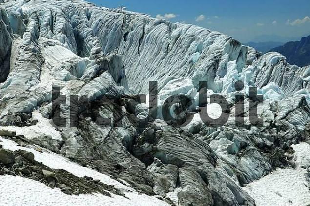 Seracs, Glacier duTour, Haute Savoie, France