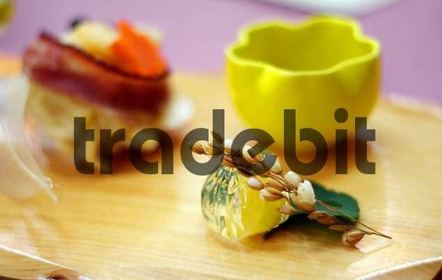 japanese food decoration, Honshu, Japan