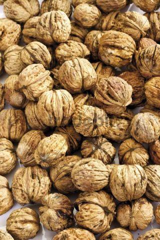 Walnuts, full frame