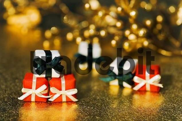 Christmas parcels decoration