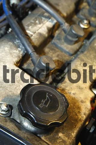Oil refill of an Engine