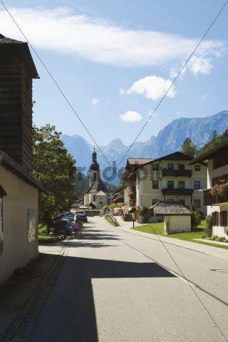 Ramsau, Berchtesgaden, Watzmann, Upper Bavaria, Bavaria, Germany, Europe