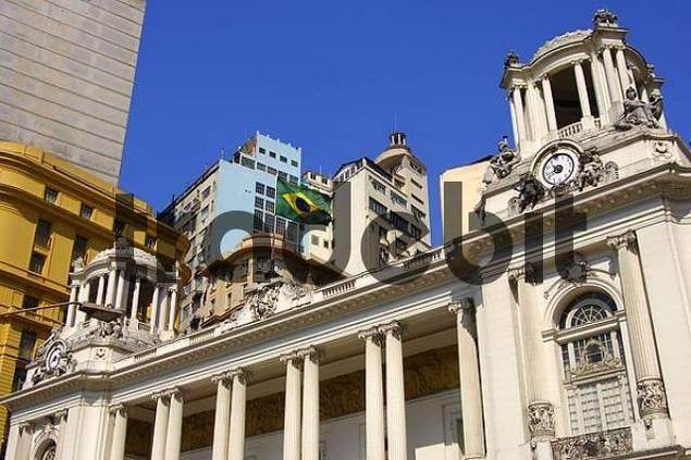 Palácio Pedro Ernesto, Municipal Council Building, Rio de Janeiro, Brasil