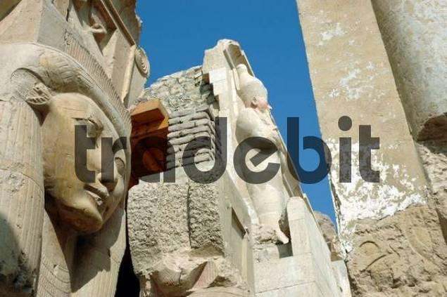 Temple of Hatshepsut, Deir el-Bahari, West Thebes, Egypt, Africa
