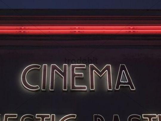 Movie Theater in Paris on a Movie Theater Paris