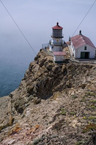 Point Reyes Lighthouse, Point Reyes National Seashore, California, USA