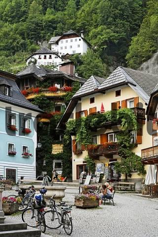Hallstatt, Salzkammergut, Upper Austria