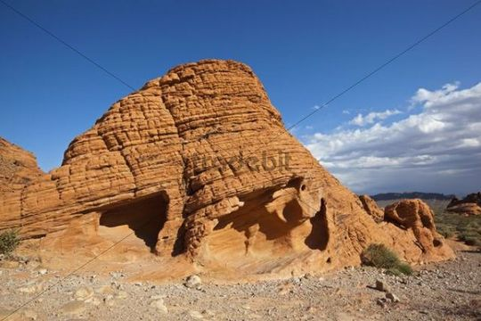 Beehives, sandstone formation, Valley of Fire State Park, Nevada, USA