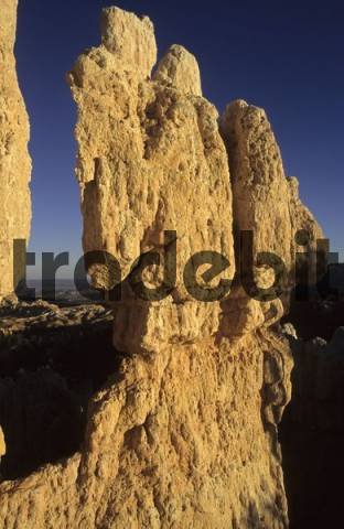 rock formation in Bryce Canyon Nationalpark