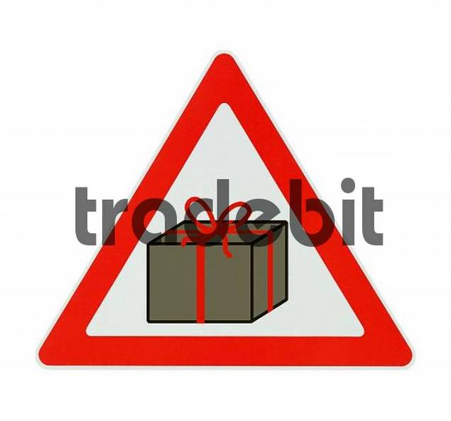 Attention! Presents - white background