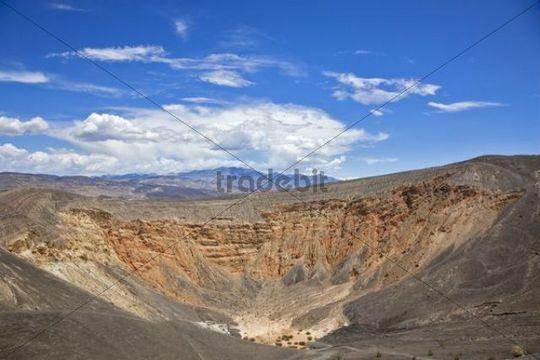 Ubehebe Crater, Death Valley National Park, Mojave Desert, California, Nevada, USA
