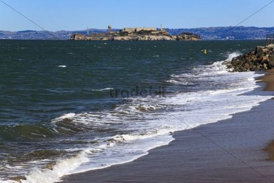 Former prison Alcatraz, San Francisco, California, USA, North America