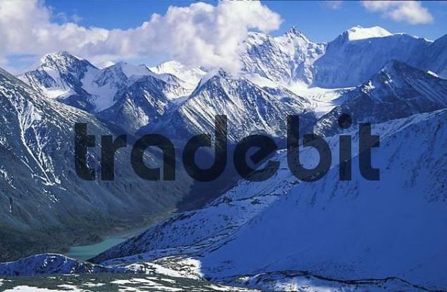 Altai, Mt.Belukha4506m-the highest peak of Siberia