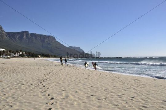 Beach, Camps Bay, Cape Town, South Africa, Africa