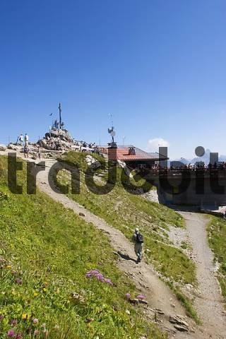 Nebelhorn mountain summit - Allgäu Bavaria Germany