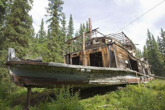 Shipyard Island Yukon River