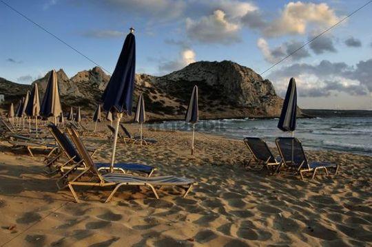 Agios Nikolaos beach in Arkassa, Karpathos island, Dodecanese, Aegean Islands, Aegean Sea, Greece, Europe