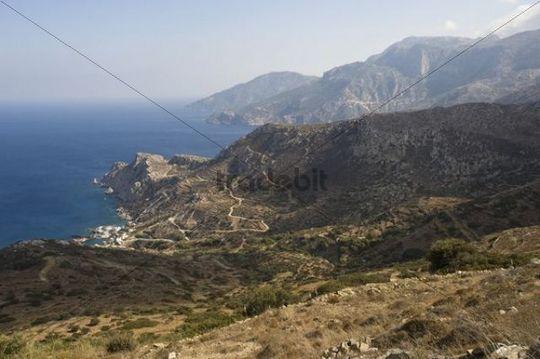 Agios Nikolaos at Spoa, Karpathos island, Aegean Islands, Aegean Sea, Dodecanese, Greece, Europe