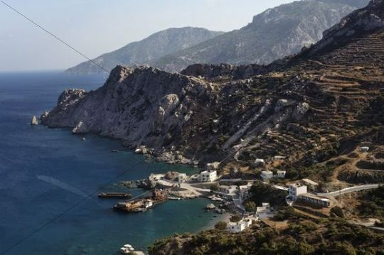 Agios Nikolaos, Spoa, Karpathos island, Aegean Islands, Aegean Sea, Dodecanese, Greece, Europe