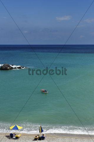 Achata Bay, island of Karpathos, Aegean Islands, Dodecanese, Aegean Sea, Greece, Europe