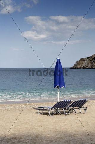 Apella Bay, island of Karpathos, Aegean Islands, Dodecanese, Aegean Sea, Greece, Europe