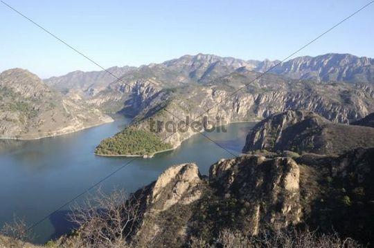 Mountain scenery, China, Asia