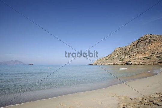 Agios Nikolaos beach near Arkassa, island of Karpathos, Aegean Islands, Dodecanese, Aegean Sea, Greece, Europe