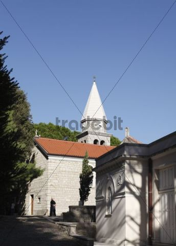 St. James´ Church, Opatija, Abbazia, Istria, Croatia, Europe