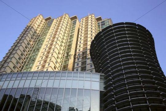 Skyscrapers, Shanghai, China, Asia