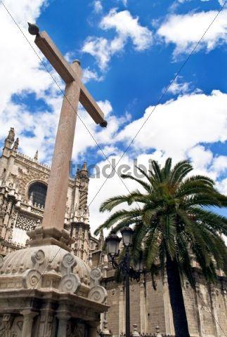 The Cathedral of Santa Maria de la Sede in Seville, Spain, Europe