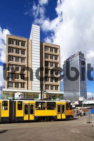 Bauhaus building at Alexander square, Berlin, Germany