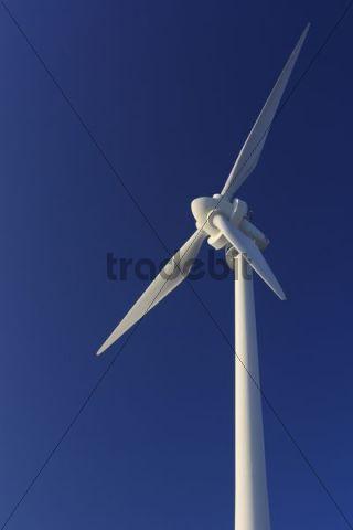 Wind turbine, wind power, Gruener Heiner, Stuttgart-Weilimdorf, Baden-Wuerttemberg, Germany, Europe