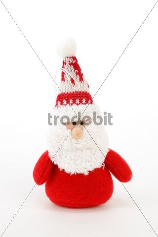 Santa Claus made of fabric, plush