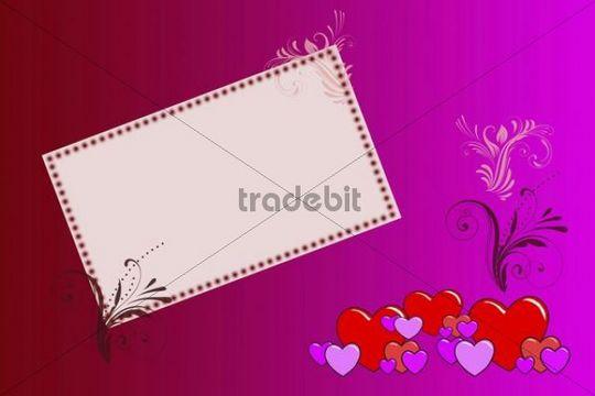 Valentine´s Day, love, card, illustration