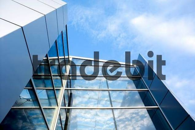 glass and metal storefront